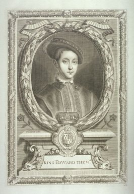 King Edward VI, Son Of Henry VIII By Jane Seymour (1547-1553)