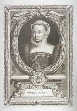 Queen Mary I, Daughter Of Henry VIII By Catherine Of Aragon (1553-1558)