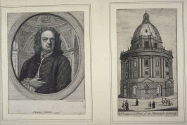 1. James Gibbs, 2.A perspective View Of Ratcliffe Library.