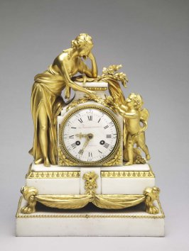 Louis XVI mantel clock (Pendule)