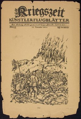 An Der Ostgrenze in Kriegszeit. No. 12, November 11, 1914