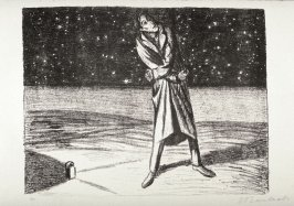 Sternreigen (Star Dance), thirty-first plate from the portfolio volume of Der Arme Vetter (Berllin: Paul Cassirer, 1919)