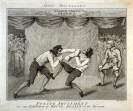 Attic Miscellany - Polite Amusement or an Exhibition of Brute Beasts at the Lyceum