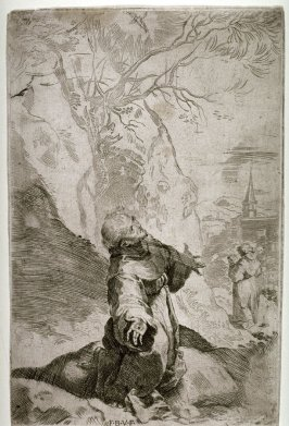 The Stigmatization of St. Francis, after the painting in Urbino at the Church of the Capuccines