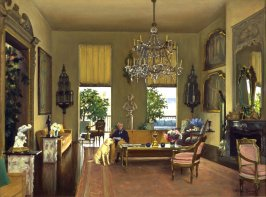 Portrait of Whitney Warren's Living Room