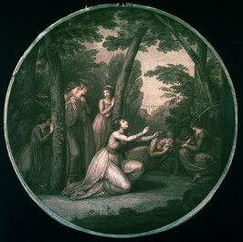 Women Weeping in a Forest