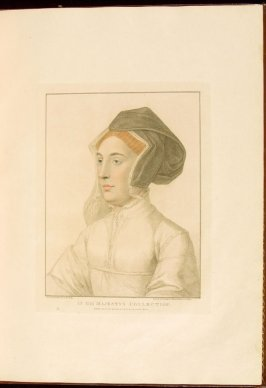 Portrait of an Unknown Lady, plate 14 in the book Imitations of Original Drawings by Hans Holbein in the Collection of His Majesty (London: John Chamberlaine, 1792)