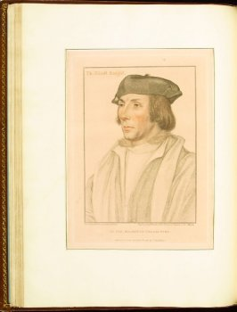 Sir Thomas Elyot , plate 33 in the book Imitations of Original Drawings by Hans Holbein in the Collection of His Majesty (London: John Chamberlaine, 1792)