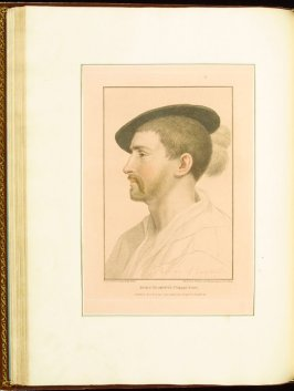 Simon George , plate 36 in the book Imitations of Original Drawings by Hans Holbein in the Collection of His Majesty (London: John Chamberlaine, 1792)