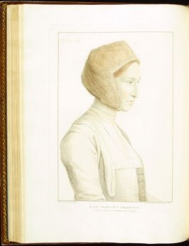 Mother Jak (Margaret Giggs) , plate 44 in the book Imitations of Original Drawings by Hans Holbein in the Collection of His Majesty (London: John Chamberlaine, 1792)