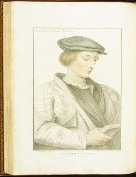John More , plate 52 in the book Imitations of Original Drawings by Hans Holbein in the Collection of His Majesty (London: John Chamberlaine, 1792)