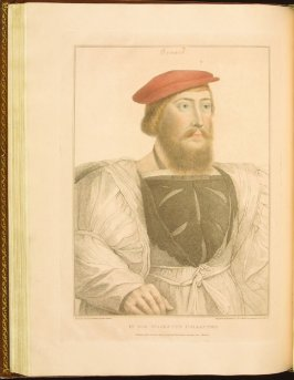 Ormond , plate 53 in the book Imitations of Original Drawings by Hans Holbein in the Collection of His Majesty (London: John Chamberlaine, 1792)