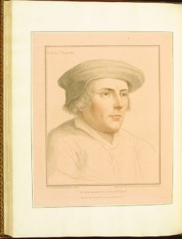 Lord Rich, plate 62 in the book Imitations of Original Drawings by Hans Holbein in the Collection of His Majesty (London: John Chamberlaine, 1792)