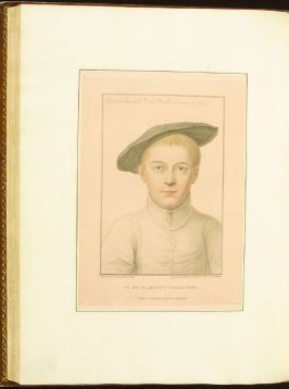 Francis Russell, Earl of Bedford , plate 67 in the book Imitations of Original Drawings by Hans Holbein in the Collection of His Majesty (London: John Chamberlaine, 1792)