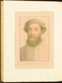 Sir William Sherington , plate 69 in the book Imitations of Original Drawings by Hans Holbein in the Collection of His Majesty (London: John Chamberlaine, 1792)