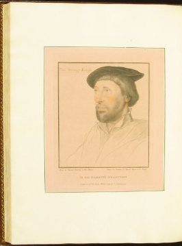 Sir Thomas Strange , plate 70 in the book Imitations of Original Drawings by Hans Holbein in the Collection of His Majesty (London: John Chamberlaine, 1792)