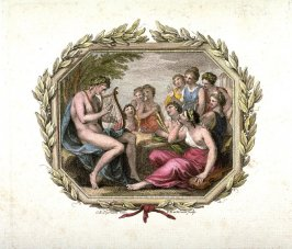 Apollo and the Nine Muses, after Cipriani
