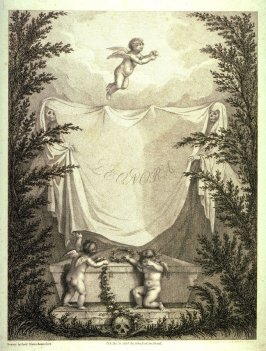 Frontispiece, after Diana Beauclerck from the book Leonora