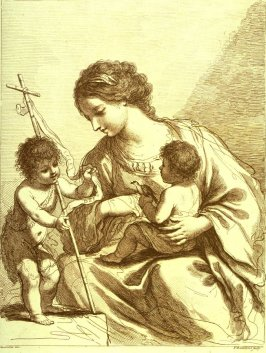 The Madonna With The Infant Jesus and St. John the Baptist