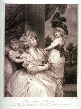 Jane, Countess of Harrington, Lord Viscount Petersham and the Right Honorable Lincoln Stanhope