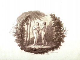 [Adam and Eve under a tree]