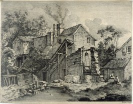 untitled (old country house, well to the right)