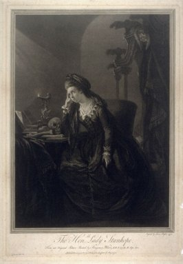 Portrait of Lady Stanhope