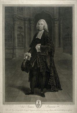 Portrait of Sir James Burrow
