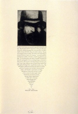 William Bradford, twenty-first plate in the book, Icones librorum artifices ([Leeds, Mass.]: Gehenna Press, 1988)