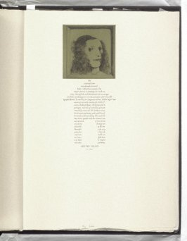 Hester Inglis, second plate in the book, Icones librorum artifices ([Leeds, Mass.]: Gehenna Press, 1988)