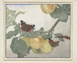 Untitled (Apples and Butterflies)