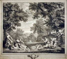 Women Clipping the Wings and Breaking the Bows of Sleeping Cupids, from the series The Loves of Venus and Adonis