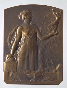 Woman Holding Victory in her palm