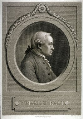 Portrait Of Emanuel Kant