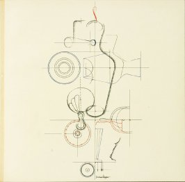 Untitled, Plate XX, pg. 221, in the book Staatliches Bauhaus Weimar, 1919 - 1923 by Walter Gropius (Munich: Bauhausverlag, 1923)