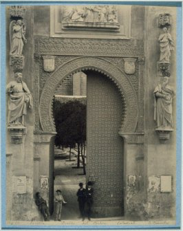 Sevilla. Puerta del Perdon. Cathedral (Mercy Gate of the Cathedral at Seville)