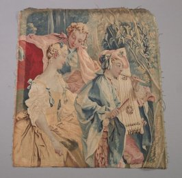 Fragment of a tapestry (?)