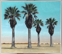 Four Palm Trees