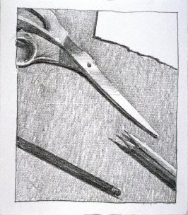 Working Proof *1 for Untitled (scissors)