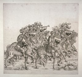 Imperial Trumpeters from: Plates To The Triumph Of Maximilian I