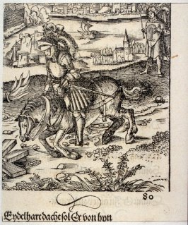 Theuerdank's Horse Hit Through the Neck, from Theuerdank (Allegorical work commissioned by Emperor Maximilian I )