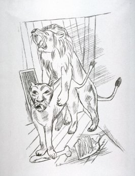 Lion Couple (Löwenpaar)