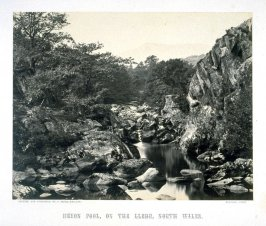 Heron Pool on the Lledr, North Wales