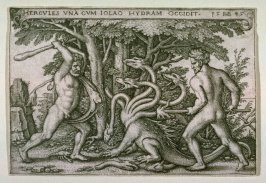 Hercules Slaying The Hydra-headed Monster