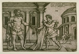 Hercules And The Garment Of Nessus