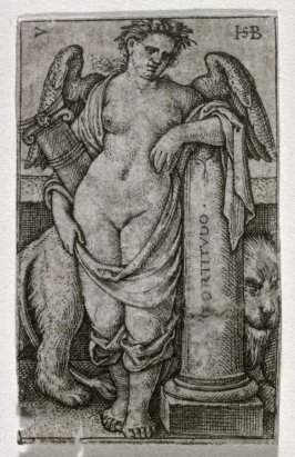Fortitude, from a set of the Cardinal Virtues