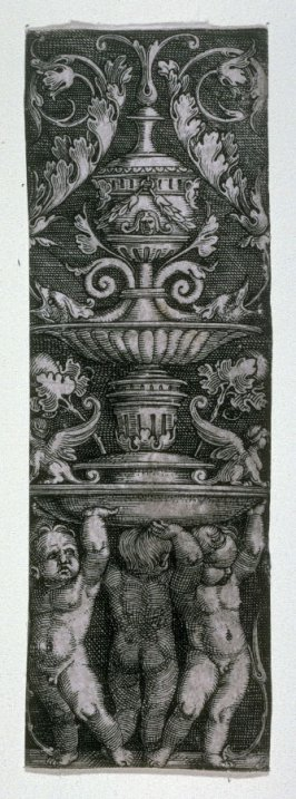 Ornamented Upright Panel