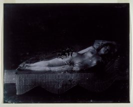 Untitled (a recumbent female nude)