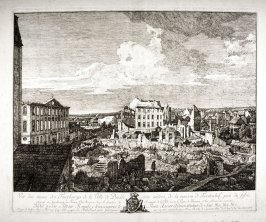 Vue des ruines des faubourgs de Dresde (View of the Ruins of the Suburbs of Dresden)