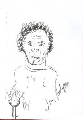 Jim Belson, Illustration 46 in the book Sketchbook (Sun Valley, Idaho)